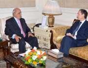 لاہور: گورنر پنجاب ملک محمد رفیق رجوانہ سے ارجنٹائن کے سفیر آئی ون آئی ..