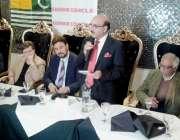 برسلز: صدر آزاد کشمیر سردار مسعود خان کشمیر کونسل ای یو کی طرف سے دیئے ..
