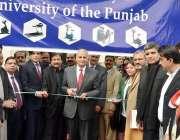 لاہور: وائس چانسلر پنجاب یونیورسٹی پروفیسر ڈاکٹر معین ناصر یونیورسٹی ..