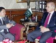 لاہور: وزیر اعلیٰ پنجاب محمد شہباز شریف سے چین کی معروف کمپنی ہاربن ..