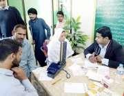لاہور: سوشل ویلفیئر اینڈ بیت المال کے زیر اہتمام سوشل ویلفیئر کمپلیکس ..