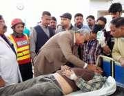 لاہور: میئر لاہور کرنل (ر) مبشر جاوید ڈیفنس کے علاقہ میں دھماکے میں زخمی ..