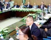 لاہور: صوبائی وزیر اطلاعات و ایکسائز اینڈ ٹیکسیشن میاں مجتبیٰ شجاع ..