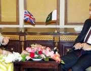 لاہور: وزیر اعلیٰ پنجاب محمد شہباز شریف سے برطانیہ کی وزیر برائے بین ..