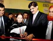 کراچی: وزیر اعلیٰ سندھ سید مراد علی شاہ ایبلٹیز ایکسپو 2017کا افتتاح ..