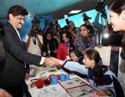 کراچی: وزیر اعلیٰ سندھ سید مراد علی شاہ ایبلٹیز ایکسپو میں سٹال لگائے ..