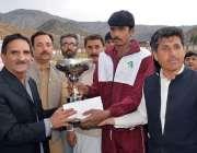 پشاور: ڈائریکٹر سپورٹس طارق محمود انڈر 23 خیبر پختونخوا گیمز کوہاٹ ریجن ..