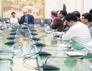 لاہور: میئر لاہور کرنل (ر) مبشر جاوید 5مارچ کو قذافی اسٹیڈیم میں پی ایس ..