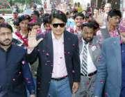 لاہور: صوبائی وزیر ہائر ایجوکیشن سید رضا گیلانی کو گورنمنٹ کالج آف ..