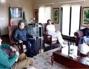 اسلام آباد: چیئرمین پاکستان تحریک انصاف عمران خان سے افغانستان کے سفیر ..