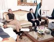 اسلام آباد: صدر مملکت ممنون حسین سے ایم ڈی پاکستان بیت المال بیرسٹر ..