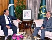 اسلام آباد: صدر مملکت ممنون حسین سے امریکہ میں پاکستان کے لیے نامزد ..