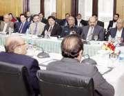 لاہور: وزیر اعلیٰ پنجاب محمد شہباز شریف پاکستان سپر لیگ کے فائنل میچ ..