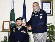 اسلام آباد: آئی جی موٹروے پولیس شوکت حیات ایڈیشنل انسپکٹر جنرل کے عہدے ..