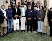 راولپنڈی: این پی سی کیمپ آفس میں منعقدہ سیمینار سے جسٹس (ر) منظور گیلانی ..