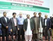 لاہور: صوبائی وزیر برائے ڈیزاسٹر مینجمنٹ مہر اعجاز اچلانہ کا یونیورسٹی ..