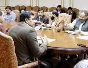 لاہور: صوبائی وزیر سکولز ایجوکیشن رانا مشہود احمد خان زیور تعلیم پروگرام ..
