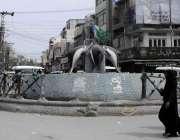 اٹک: انتظامیہ کی نا اہلی کے باعث لاکھوں روپے سے بنائے جانیوالا فوارہ ..