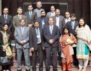 لاہور: ایل ڈی اے کے مطالعاتی دورے پر آنیوالے مڈکیرئیر مینجمنٹ کورس ..
