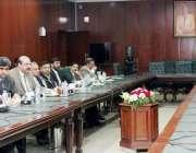 لاہور: چیف سیکرٹری پنجاب کیپٹن (ر) زاہد سعید چینی وزارت خارجہ کے 7رکنی ..