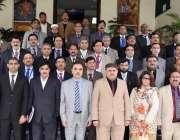 مظفر آباد: آزد کشمیر کے سیکرٹری جموں و کشمیر لبریشن سیل ادریس عباسی ..
