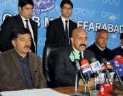 مظفر آباد: صدر سنٹر بارراجہ آفتاب راولا کوٹ اور نیلم بار صدور کے ہمراہ ..