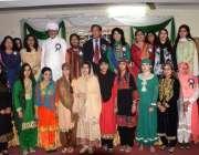 راولپنڈی: ڈاکٹر یوسف عزیز کا گورنمنٹ رحمت آباد ڈگری کالج میں پاکستان ..