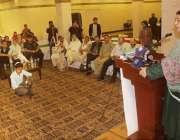 لاہور: انصاف پروفیشنل فورم کے زیر اہتمام جنگلات کے عالی دن کے موقع پر ..