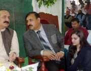 لاہور: صوبائی وزیر سکولز ایجوکیشن رانا مشہود احمد خاں یوم پاکستان کے ..