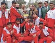 پشاور: پاکستان جوڈو فیڈریشن کے نائب صدر میجر ذوالفقار خیبر پختونخوا ..