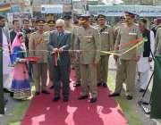کوئٹہ: گورنر بلوچستان محمد خان اچکزئی عسکری پارک میں یوم پاکستان میلہ ..