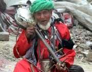 لاہور: حضرت شاہ حسین المعروف مادھولعل حسین (رح) کے عرس کے موقع پر ملنگ ..