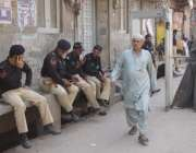 لاہور: حضرت شاہ حسین المعروف مادھولعل حسین (رح) کے عرس کے موقع پر داخلی ..