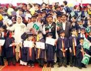 لاہور: ڈان باسکو سکول کے جونئیر سیکشن کی سانہ تقریب تقسیم انعامات کے ..
