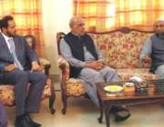 سرگودھا: گورنر پنجاب ملک محمد رفیق رجوانہ سے سرگودھا چیمبر آف کامرس ..