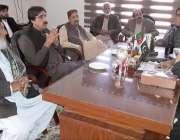 پی ٹی آئی بلوچستان کے صدر سردار یار محمد رند سے پارٹی جکے عہدیدا ملاقات ..