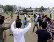 راولپنڈی: پیر مہر علی شاہ یونیورسٹی میں منعقدہ سالانہ سپورٹس گالا کے ..