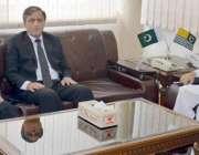 مظفر آباد: صدر آزاد کشمیر سردار مسعود خان سے چیئرمین سروس ٹربیونل خواہ ..