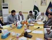 کوئٹہ: نیشنل مینجمنٹ کالج لاہور کا دورہ چیمبر آف کامرس اینڈ انڈسٹریز ..