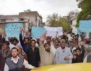 کوئٹہ: بازئی قبائل اراضی پر قبضے کے خلاف پریس کلب کے سامنے احتجاجی مظاہرہ ..