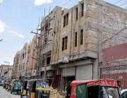 کوئٹہ: 30فٹ سے بلند عمارتوں کی تعمیر پرپابندی کے باوجود شہر میں اونچی ..