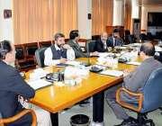 اسلام آباد: چیئرمین نیب قمر زمان چوہدری نیب ہیڈ کوارٹر میں اعلیٰ سطحی ..