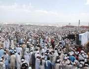نوشہرہ: اضاخیل میں جمعیت علمائے اسلام کی تین روزہ صد سالہ اجتماع کا ..