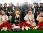 نوشہرہ: امام کعبہ الشیخ صالح بن محمد ابراہیم، سعودی عرف کے وزیر مذہبی ..