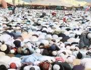 نوشہرہ: اضاخیل میں جمعیت علمائے اسلام کی تین روزہ صد سالہ اجتماع کے ..