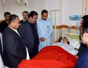 کوئٹہ: صوبائی وزیر صحت میر رحمت صالح بلوچ مستونگ حادثے میں زحمی ہونے ..