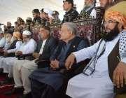 نوشہرہ: جمعیت علمائے اسلام کے تین روزہ اجتماع کے دوسرے روز چیئرمین ..