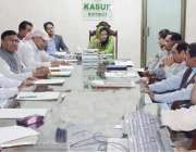 قصور: ڈپٹی کمشنر عمارہ خان تین روزہ انسداد پولیو مہم کے انتظامات کا ..