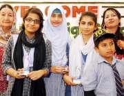 حیدر آباد: لٹل اینجل ہائی اسکول لطیف آباد: نمبر 10کی سالانہ تقریب تقسیم ..