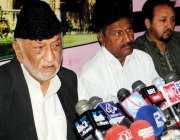 حیدر آباد: جعفریہ الائنس کے سربراہ عباس کمیلی پریس کانفرنس سے خطاب ..